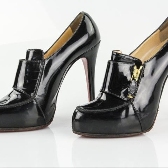 e408ace11679 Christian Louboutin Black Lapono Booties 38